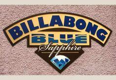 Billabong Blue Sign / Danthonia Designs