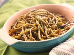 Bacon-Braised Green Beans