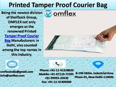 Tamper Proof Courier Bag,Printed Courier Bags Manufacturer in Delhi Security Bag, North India, Online Bags, Division, Names, Group, Printed, Prints