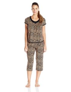 Rene Rofe Women's Simply Me Capri Pajama- Set *** You can get more details by clicking on the image.