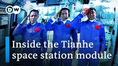Chinese astronauts dock with Tiangong space station | DW News