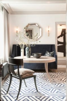 Greenwich Village Pied-à-terre - transitional - dining room - new york - Antonino Buzzetta Design