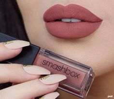 Pinterest: Tumblr Style #lips #makeup #lipstick