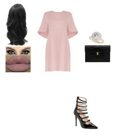 """Untitled #491"" by insafsat on Polyvore featuring Valentino, Fendi, Alexander McQueen, Lauren Conrad and Allurez"