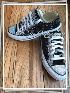 113 Best Bedazzled Converse images  1b72722195b4