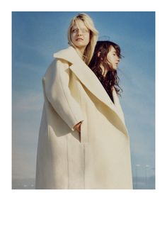 caroline schurch and alice pasche by jamie hawkesworth for acne paper # 15