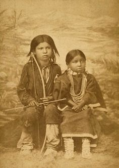 Children of the Northern Cheyenne Chief, Two Moons