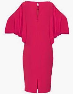 Patrón gratis: vestido muy fácil con mangas de murciélago