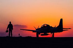 Super Tucano e seu Piloto a Força Aérea na Fronteira Fot - Sgt Johnson