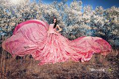 Serenity One Wise Life - Fotos Beach Senior Photography, Fabric Photography, Fashion Photography, Pink Fashion, Fashion Art, Parachute Dress, Princess Beauty, Fancy Gowns, Ethereal Beauty