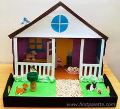 Pet Diorama craft