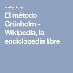 El método Grönholm - Wikipedia, la enciclopedia libre