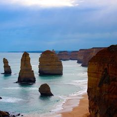 12 apostles. #nofilter #12apostles #greatoceanroad #travel #ocean #rocks #roadtrip #landmark #australia by lastfiascoruntravel http://ift.tt/1ijk11S