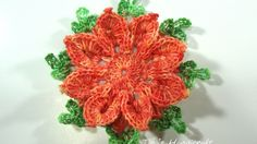 3D crochet flower No 13