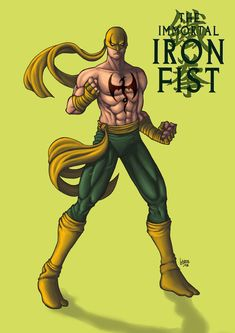 iron fist comiss by funeralwind Marvel Comics Art, Marvel Comic Universe, Marvel Comic Books, Comics Universe, Powerman And Iron Fist, Iron Fist Powers, Iron Fist Marvel, Misty Knight, Marvel Animation