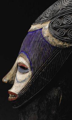 Igala Agba Helmet Mask, Nigeria