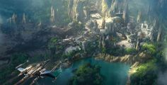 Disney parks to unwrap Star Wars lands in 2019     - CNET  Enlarge Image  Concept art lays out Star Wars land at Disneyland.                                                       Disney                                                   Disneys Star Wars lands one at Disneyland in California and another at Walt Disney World in Florida are scheduled to open in 2019.   Disney CEO Bob Iger made the announcement during an investor call Tuesday according to Disneys DisneyParks blog.   Star Wars…