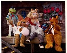 1991 Muppets on Location Press Photo featuring Missy Piggy and Kermit from MGM Studios Full Color Walt Disney World Disney Dream, Disney Love, Disney Magic, Disney World Resorts, Disney Parks, Walt Disney World, Bean Bunny, Die Muppets, Miss Piggy