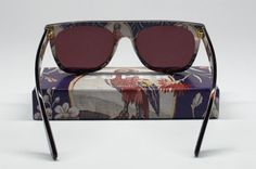 """Super Spring/Summer 2013 """"Visiva"""" collection showcases more brightly patterned frames than Super's usual tonal offerings. These sunglasses are indeed for the bawse!"""