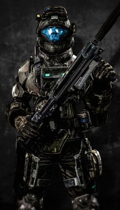 An Odst from Halo Halo Cosplay, Armadura Sci Fi, Odst Halo, Halo 2, Halo Armor, Halo Spartan Armor, Halo Reach Armor, Halo Series, Halo Game