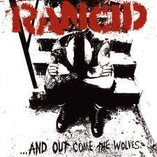 RANCID - ...AND OUT COME THE WOLVES LP. #musicart #albumcover http://www.pinterest.com/TheHitman14/album-cover-art/