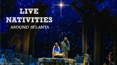 Several years ago I decided we needed to do something that represented the real reason for Christmas, not just visiting Santa and riding the Pink Pig. So I set out to find one of the live nativity scenes around Atlanta. It wasn't as easy as you might think. Now I've heard of several. If you know of other places to see live nativities around Atlanta, please post a comment. Don't forget to wear warm clothes. All of these activities are held outside and free unless otherwise noted.
