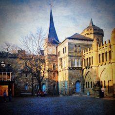 Castle in Wilhelmshohe Park Kassel, Germany