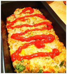 Quinoa turkey meat loaf