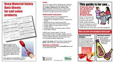 This guide is for you if you are one of the 14,500 nail technicians working in Oregon today, by the Oregon Occupational Safety and Health Division
