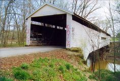 the anderson river bridge is on the perry and spencer county indiana ...