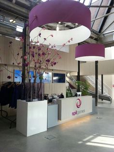 Spil games office reception (overhead lighting)