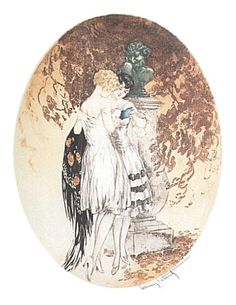 Image detail for -LOUIS ICART Secrets Print, Open Edition : Lot 6080  I HAVE THIS & LOVE