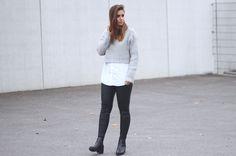 Jony van shout-outtoyou.com combineert deze ankle boots van Invito met een cropped sweater! ♥