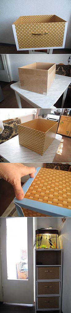 (+1) тема - Ящик-короб, для хранения зонтов и др.дамских мелочей. | СДЕЛАЙ САМ!