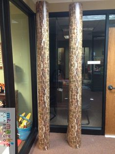 These digitally printed tree bark panels are perfect for creating trees on your VBS stage or classroom. Use these with the Outlook, Shady Grove, and the Tangled Branch Treehouse. They are 6 feet tall and sold as a pair. Due to such high demand, this product could take up to three weeks to ship.
