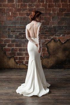 3905891fd15 Mermaid wedding dress. Lace Wedding Dress.dress