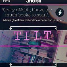 Avere troppi libri da scannerizzare. Ma adorarli #aNobii