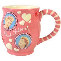 I Love Lucy Best Friends Ceramic Mug | The Lucy Store