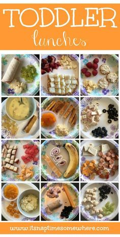 A Collection Of 36 Different Toddler Meals To Help Anyone Looking For Meal Ideas Their