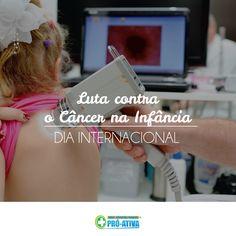 Hoje é o dia Internacional da Luta Contra o Câncer na Infância 👦👧 #ProAtiva #Ipatinga #Prevenção #Crianças #Saúde
