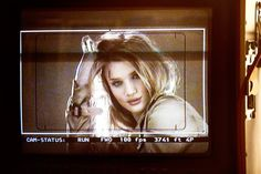 Behind the scenes of the Burberry Body campaign featuring British actress Rosie Huntington-Whiteley