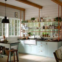 38 Ideas Kitchen Hacks Design Ikea Cabinets Storage For 2019 Apron Front Kitchen Sink, Kitchen Sink Design, Kitchen Cabinet Styles, Diy Kitchen, Kitchen Ideas, Kitchen Reno, Kitchen Hacks, Cuisines Diy, Cuisines Design