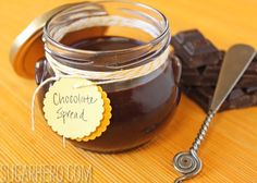 Chocolate spread - nut free and homemade :D