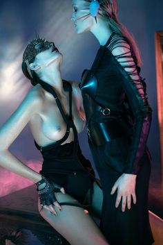 appetite for attraction: monica cima and hannare blaauboer by nicolas guerin for revs #14