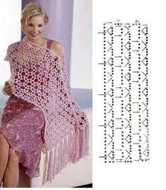 Great stitch for a shawl