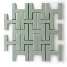 Chaine Homme | love this tile option for the kitchen backsplash