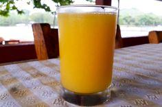 Orange juice La Perla del Sur Restaurant Sierpe, Costa Rica #food #foodie #travel
