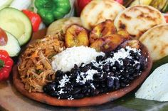Pabellon Criollo. Venezuela's Typical Dish