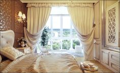 Great Bedroom Curtain Ideas