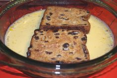 Oven Baked French Toast-- The Perfect Way to Make French Toast! Recipes With Raisin Bread, Cinnamon Raisin Bread, Cinnamon French Toast, Cinnamon Recipes, French Toast For One, Oven Baked French Toast, French Toast Bake, Breakfast Specials, Breakfast Items